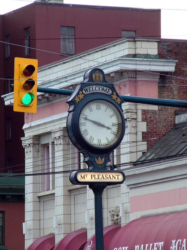 Mount Pleasant Street clock